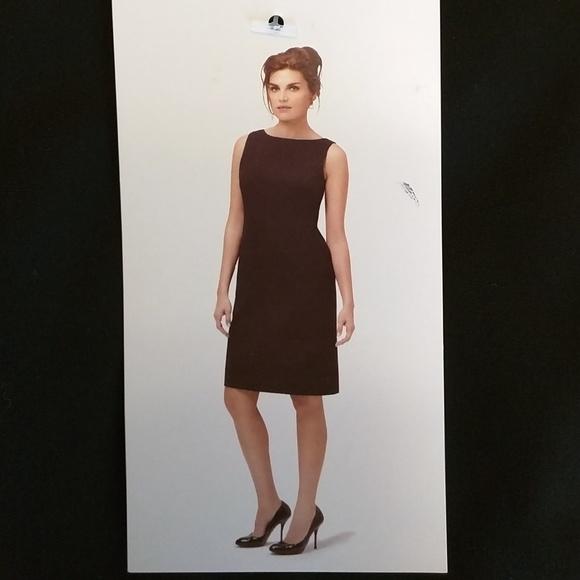 London Times Dresses Little Black Dress Size 6 Sleeveless Knee